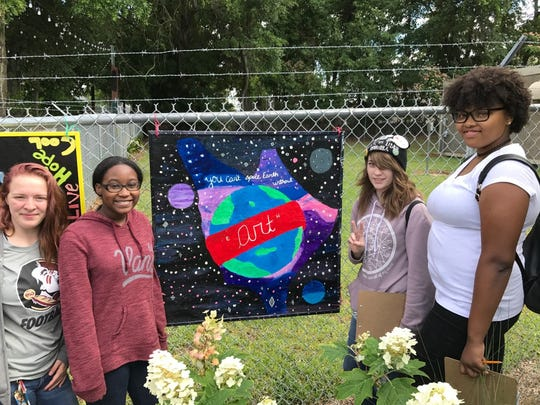 Five new murals have been installed to enhance Tallahassee's public art collection.