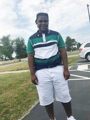 Damon Grimes, 15, crashed his ATV on Aug. 26, 2017