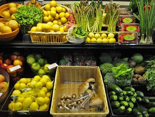 The Minnesota Street Market Co-op receives produce