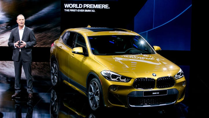 CEO of BMW of North America Bernhard Kuhnt unveils