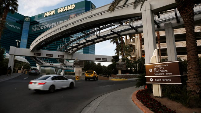 Casino giant MGM Resorts International plans to begin charging visitors for parking this year at some of its properties in Las Vegas.