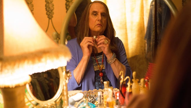 Jeffrey Tambor as Maura Pfefferman in a scene from Amazon's 'Transparent,' a multiple Emmy nominee.