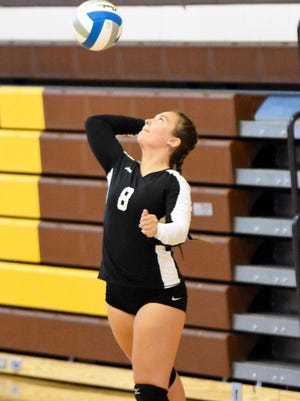 Hailey Dorey is one of the top returning players for the Cheboygan varsity volleyball team, which will open up its 2020 season at the Pellston quad meet on Saturday.