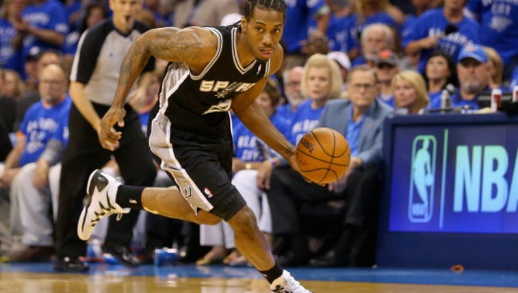 OKLAHOMA CITY, OK - MAY 25: Kawhi Leonard #2 of the