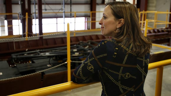 City Councilwoman Amy Murray hosted a tour of the streetcar
