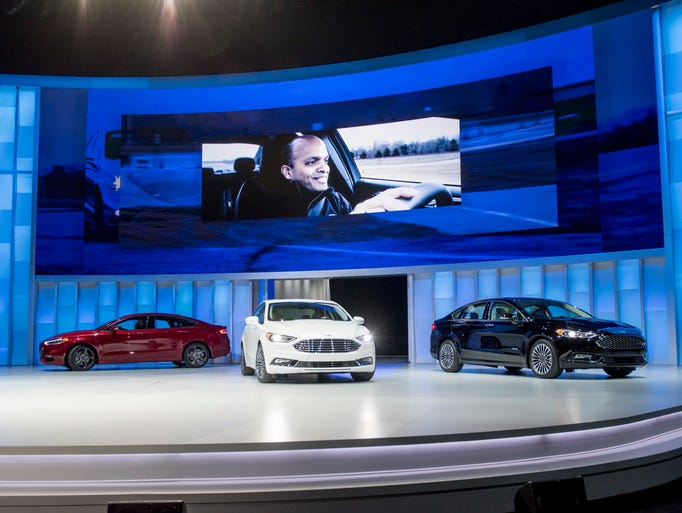 Ford Motor Co. introduced three new versions of the