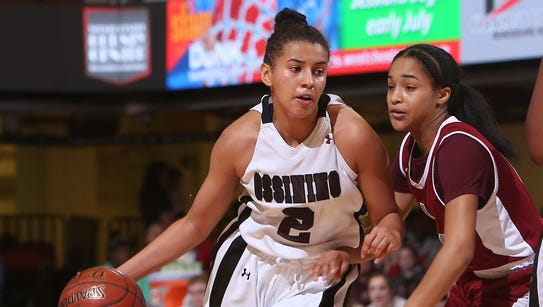 Ossining senior Andra Espinoza-Hunter was named the