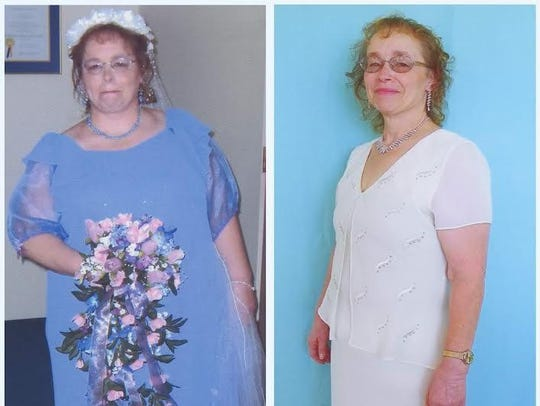 Judy Kenmir lost more than 100 pounds with the TOPS
