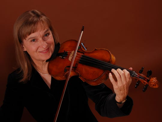 Violinist Andrea Wagoner joined the Milwaukee Symphony in 1979.