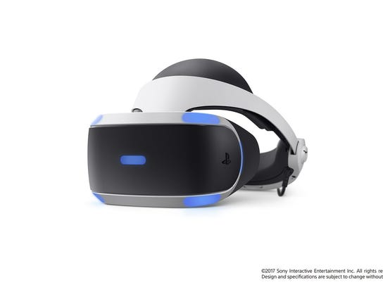 A promotional image featuring the PlayStation VR.