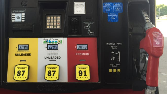 Iowans are happily pumping cheap gas — under $2 per gallon in many cities.