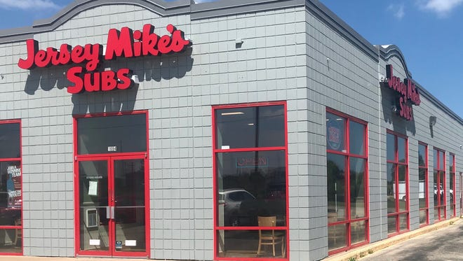 Jersey Mike's Subs will open July 11, 2018, at 1694 S. Koeller St., Oshkosh.