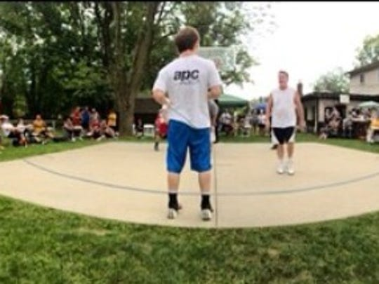 A recent edition of the Gav's Classic basketball tournament.