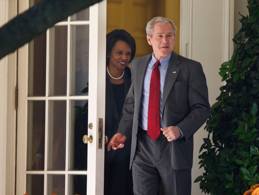 George W. Bush, Condoleezza Rice