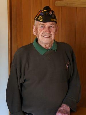 Korean War veteran Wally Rozella participated in a Never Forgotten Honor Flight in 2013.