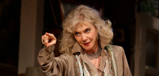 Blythe Danner performs in 'The Country House.'