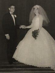 Larry and Rosemary Miller, Rakowitz uncle and aunt. Married April 26, 1965.