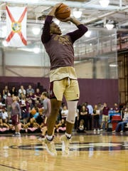 Florida State sophomore guard CJ Walker looks to provide