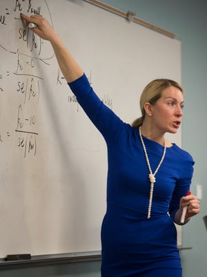 Economics professor Marieta Velikova first came to America from Siberia because, as a 14-year-old girl, she won a very competitive spot on a Russia-U.S. exchange program for high school students. Now she teaches at  Belmont University