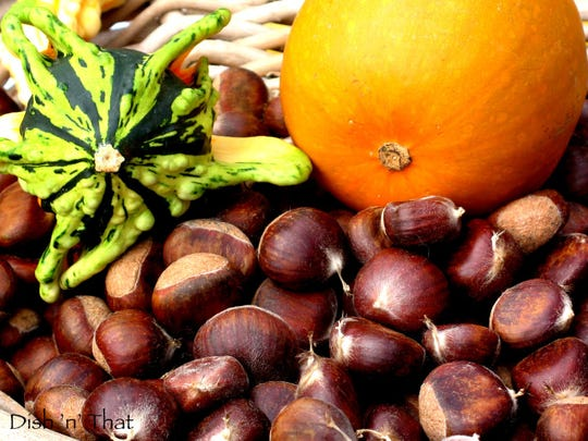 Fresh chestnuts make a hearty addition to soups and pasta dishes.