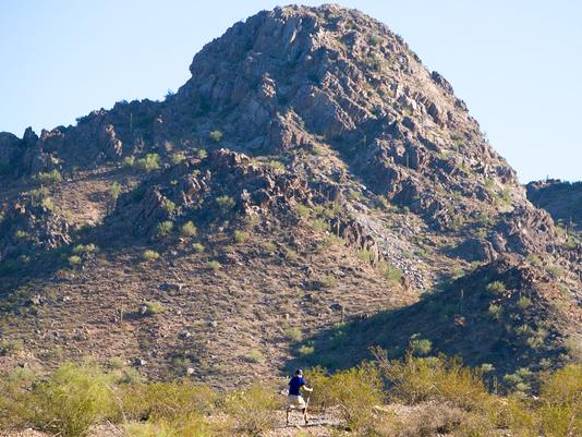 Valley hiker