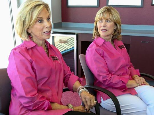 NMSU Aggies Tough Enough to Wear Pink campaign co-chairs