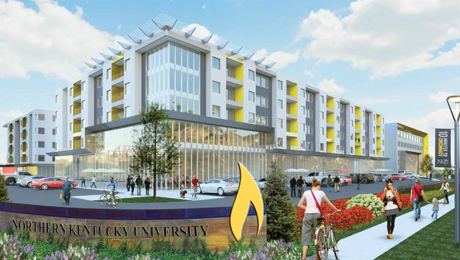 Northern Kentucky University is partnering with Fairmount Properties to build a mixed-use development and professional office building along U.S. 27 and Nunn Drive.