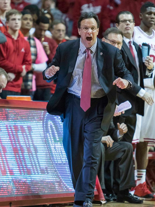 NCAA Basketball: Ohio State at Indiana