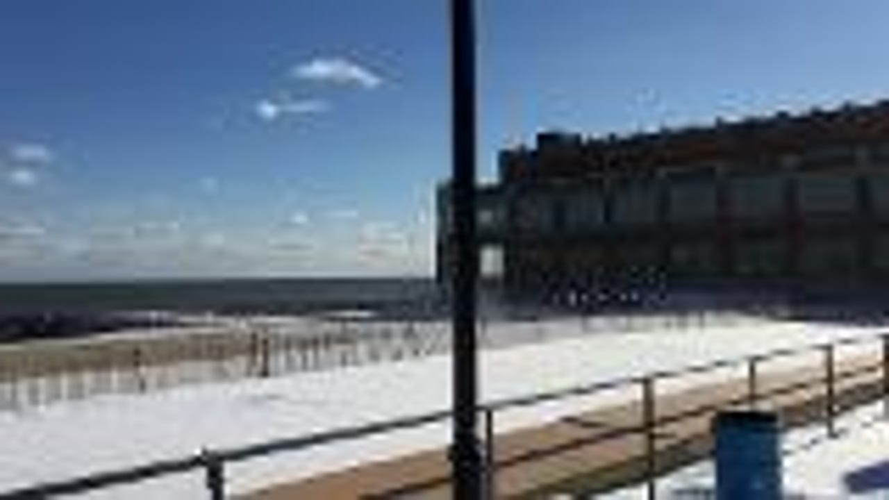 Raw video: Asbury Park snow day
