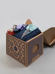 A sample box from Men's Style Lab