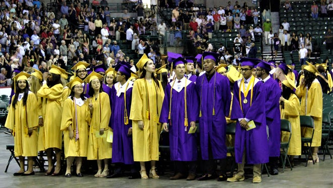 Monroe Township High School 2018 graduation