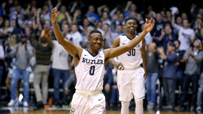 Butler guard Avery Woodson is from football country. But he's enjoying life in basketball rich Indiana.