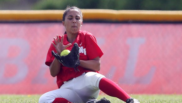 North Rockland's Lexi Huertas, pictured here during the Section 1 Class AA championship game at North Rockland High School on May 27, was an unanimous first-team selection by area coaches.
