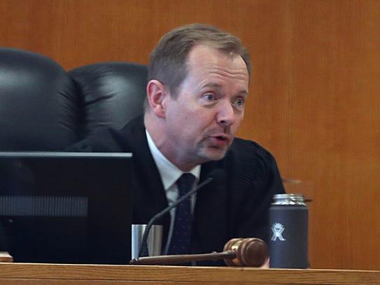 Milwaukee County Circuit Judge Mark Sanders.