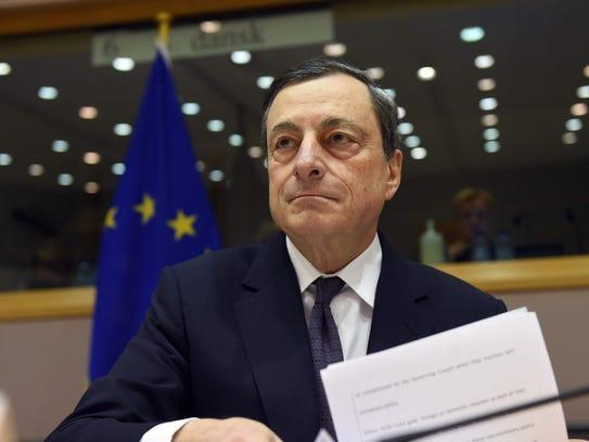 European Central Bank President Mario Draghi will lead