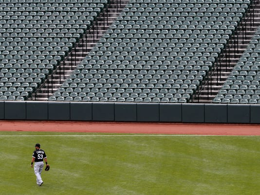 Baltimore Unrest Forces Orioles Play White Sox In An Empty Camden Yards