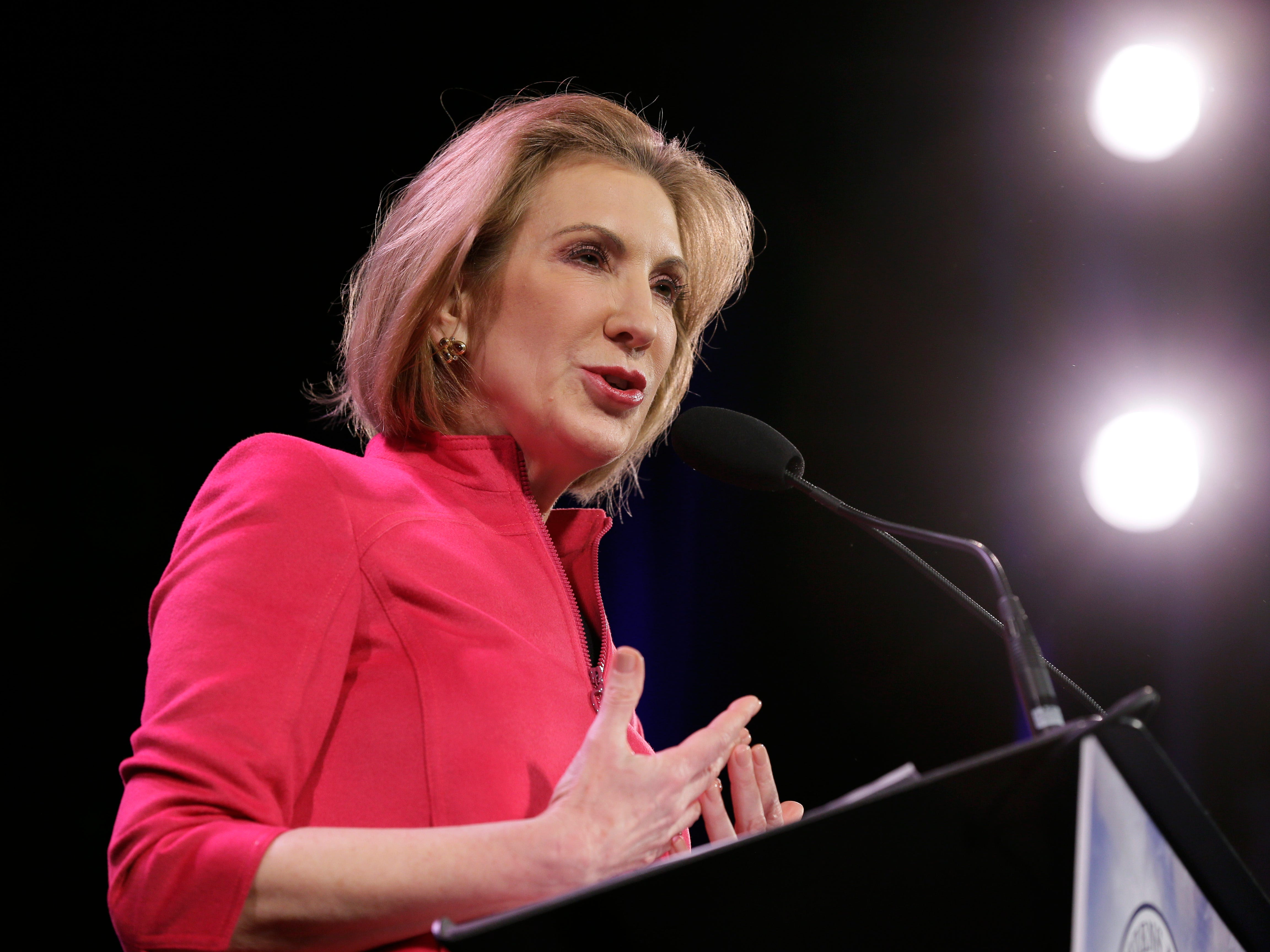 Carly Fiorina was ousted as CEO of Hewlett-Packard after nearly six years at the helm.