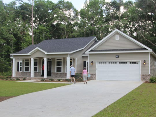 This four-bedroom, two-and-a-half-bathroom home in the Cobb Farms community off Bradfordville Road is set on a one-acre lot. It has an oversized island in the kitchen and a two-car garage. It is Entry No. 8 in the Parade of Homes.