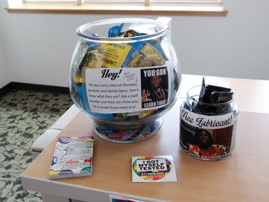 FSU offers free condoms for students, available near the bathrooms of the University Health & Wellness Center.