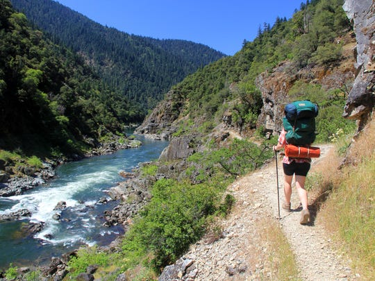Backpacking has become more popular than fishing in the wild section of the Rogue River.