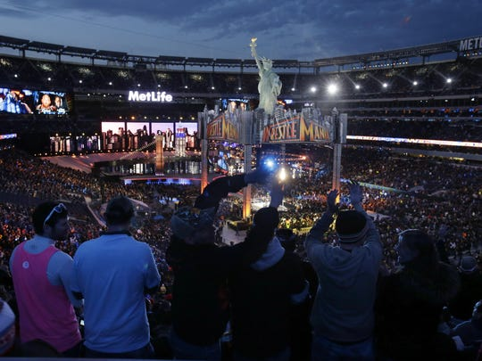 Fans packed MetLife Stadium in East Rutherford in 2013 for WrestleMania 29 -- the first positive WrestleMania for Daniel Bryan.