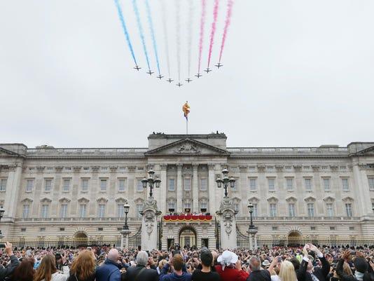 Britain Crumbling Palace