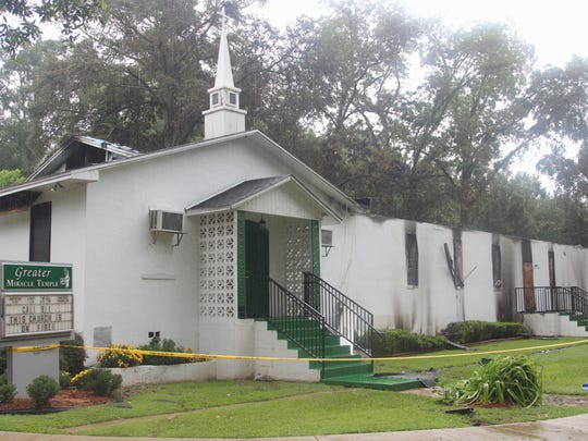 A fire at Greater Miracle Temple in Tallahassee has been linked to an exposed electrical wire caused by a falling tree