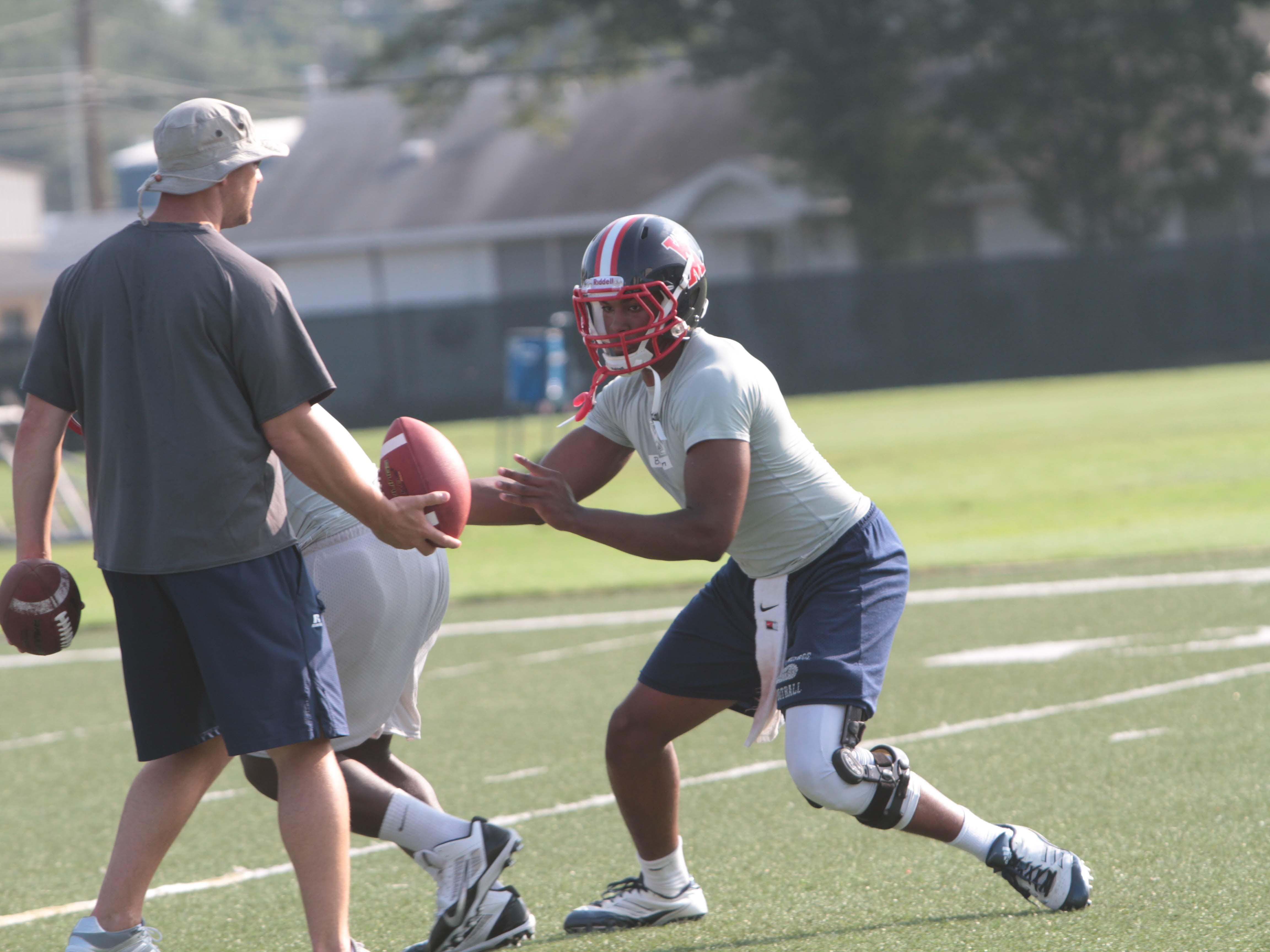 West Monroe quarterback Jon Randall Belton will be in action with the Rebels Friday and Saturday in the West Monroe 7 on 7 Tournament.