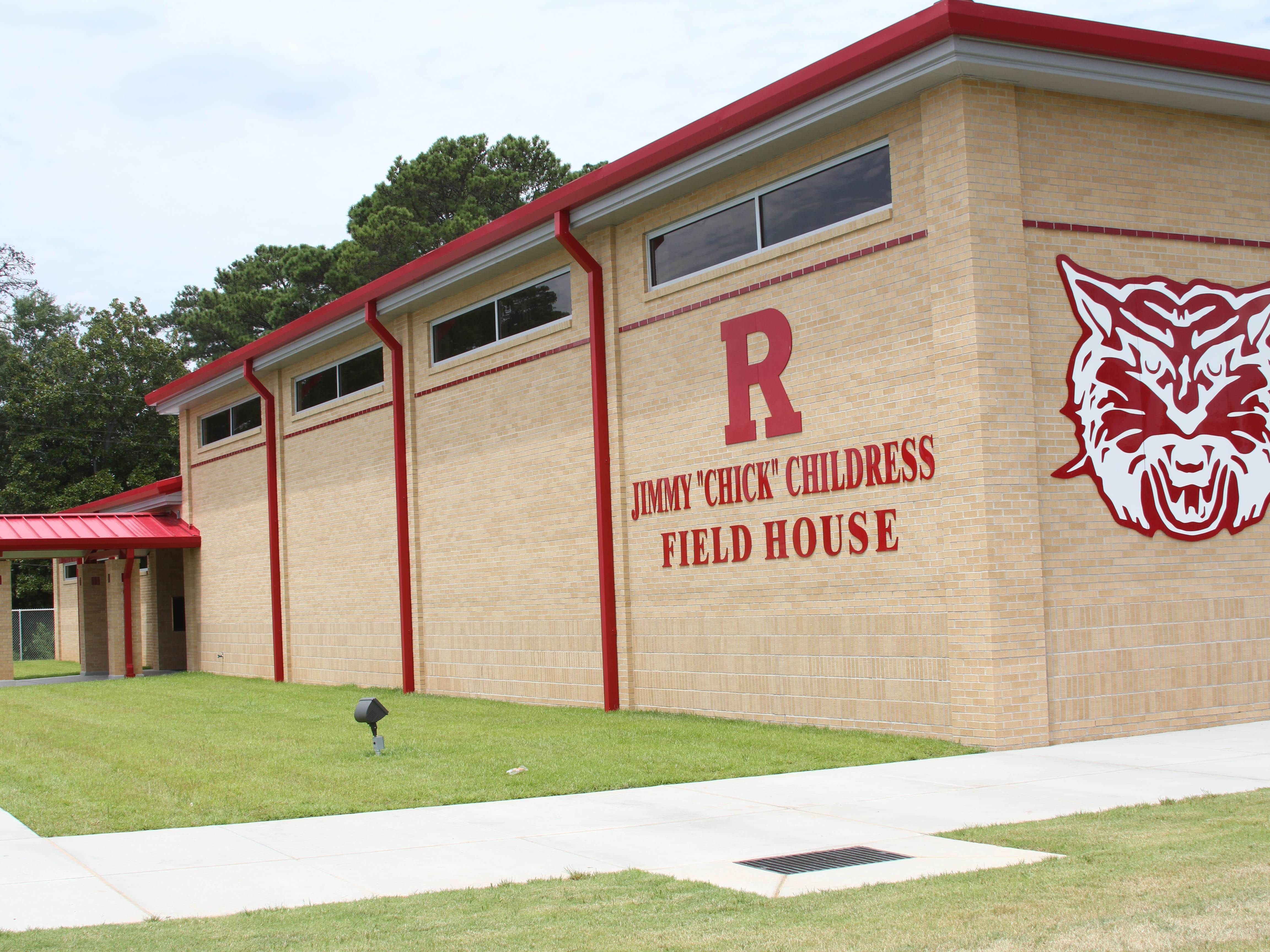 "Jimmy ""Chick"" Childress Field House at Ruston High School is a reminder of how the coach impacted young people and Lincoln Parish."