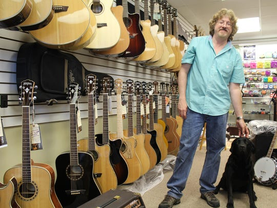 Dion Starck has operated October Guitars for the past 14 years in the Wausau region. For the last five years, his shop has been located on the city's near west side.