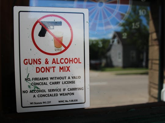 6 No guns sign
