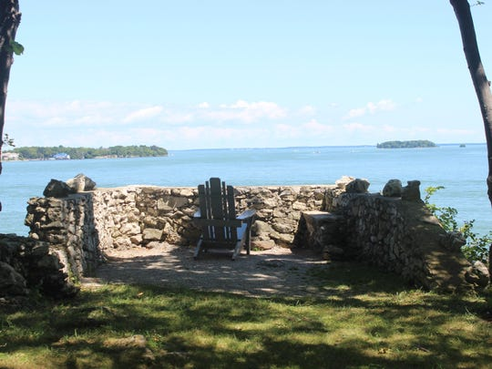 Perry's Lookout is said to be where Commodore Oliver Hazard Perry first spotted the British naval fleet in the War of 1812's Battle of Lake Erie.