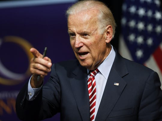 "Joe Mathews ponders whether Joe Biden's presidential candidacy can survive the ""averageness"" of his name."