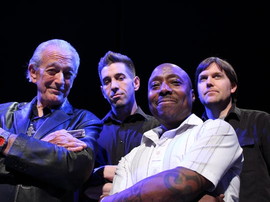Charlie Musselwhite (left), whose credits as a harmonica player include sessions with the legendary blues singer Muddy Waters, will headline the fifth annual Morristown Jazz and Blues Festival.
